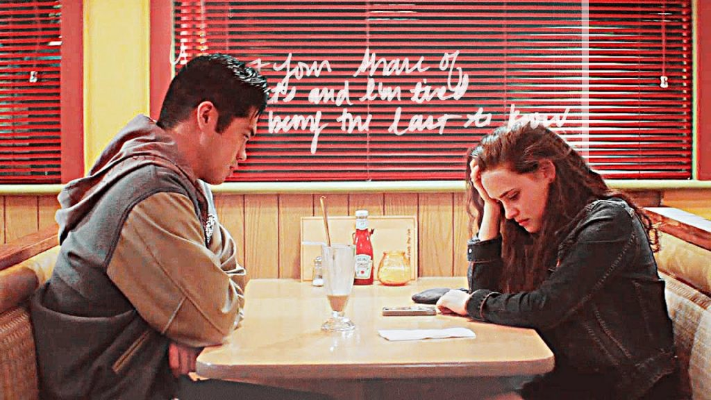 Zach Dempsey and Hannah Baker on 13 Reasons Why