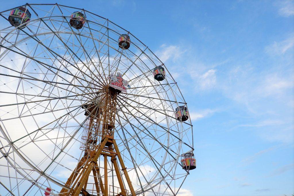 Ferris Wheel in Surabaya Night Carnival
