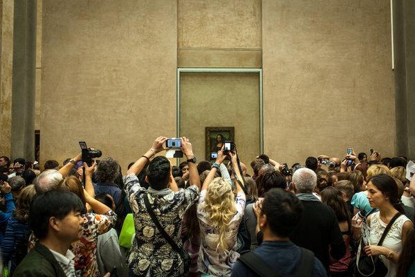 Selfie in Museum