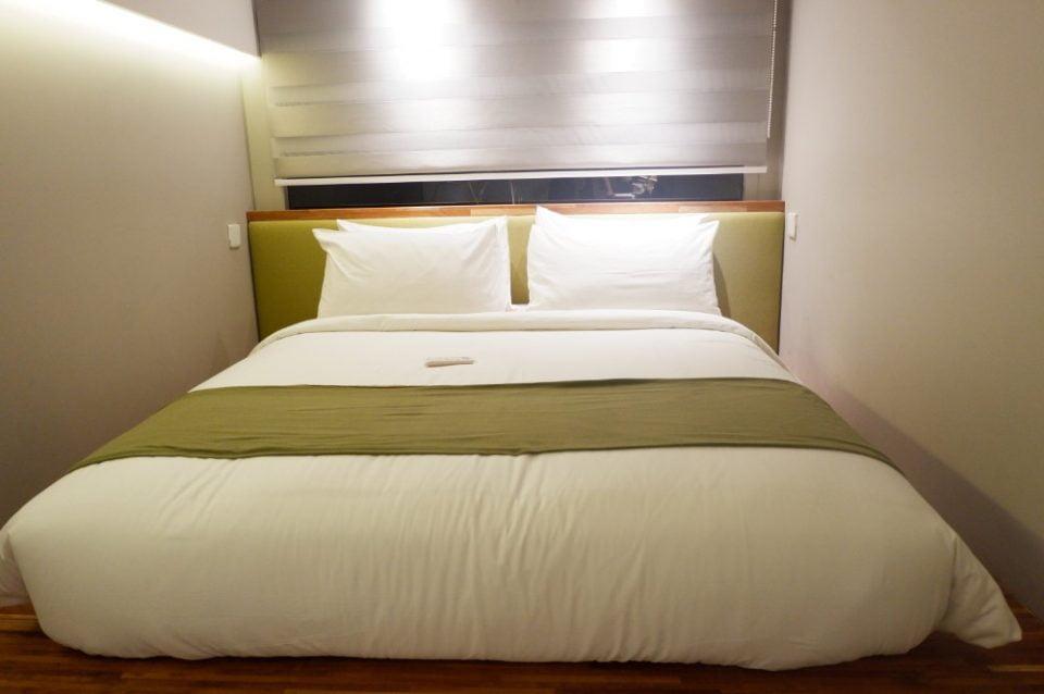 Kollektiv Hotel Bandung Bedroom