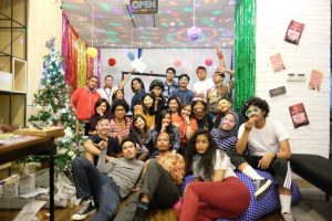 Christmas party at FleishmanHillard Indonesia