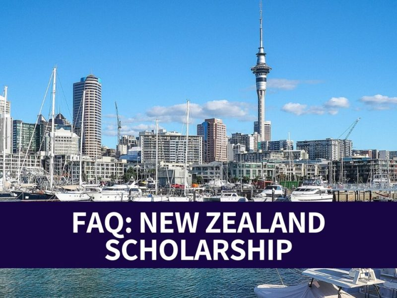 FAQ New Zealand Scholarship