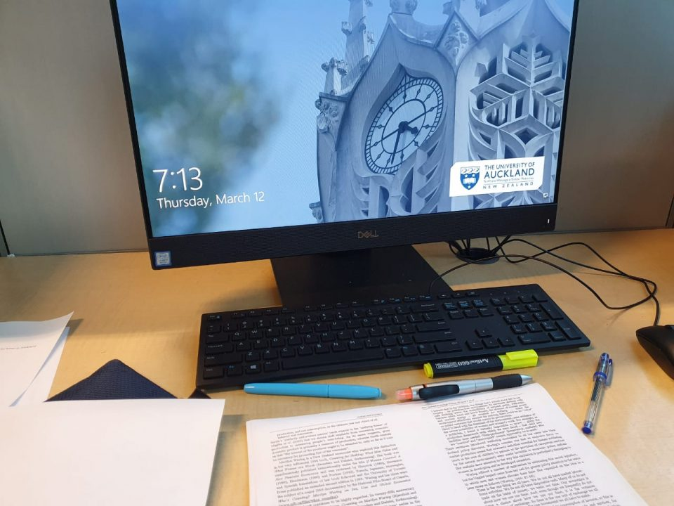 Study at University of Auckland Library
