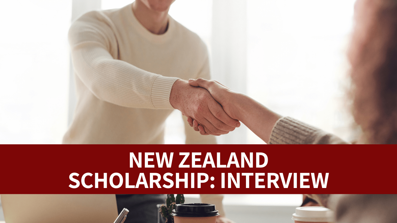 Tips Interview New Zealand Scholarship